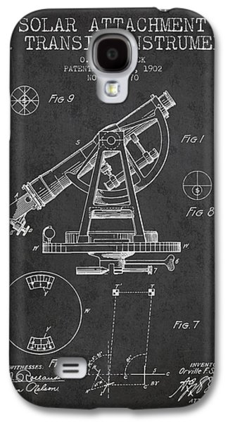 Surveying Galaxy S4 Cases - Solar Attachement for Transit Instruments Patent from 1902 - Cha Galaxy S4 Case by Aged Pixel