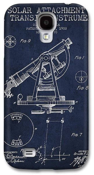 Surveying Galaxy S4 Cases - Solar Attachement for Transit Instruments Patent from 1902 - Nav Galaxy S4 Case by Aged Pixel