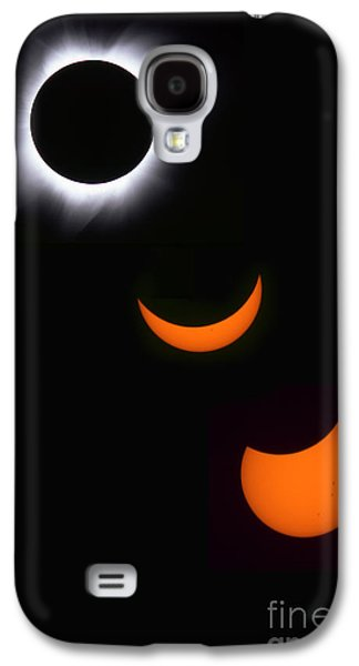 Solar Eclipse Galaxy S4 Cases - Solar Eclipse Sequence Galaxy S4 Case by Francois Gohier