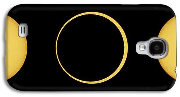 Solar Eclipse Galaxy S4 Cases - Solar Eclipse Sequence Galaxy S4 Case by John Chumack