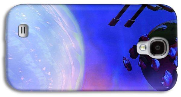 Jet Star Galaxy S4 Cases - Solar Nexus 2 Galaxy S4 Case by Corey Ford