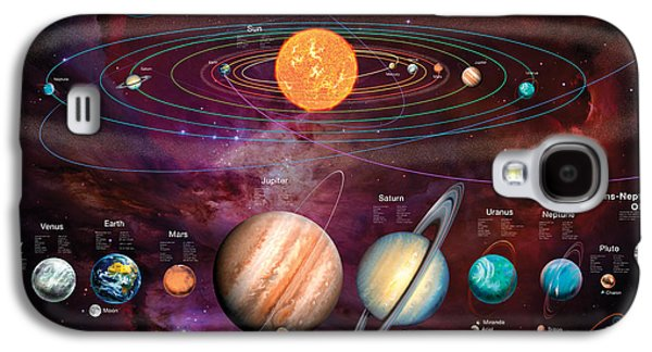 Solar System 1 Galaxy S4 Case by Garry Walton
