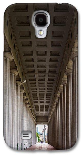 Soldier Field Colonnade Galaxy S4 Case by Steve Gadomski