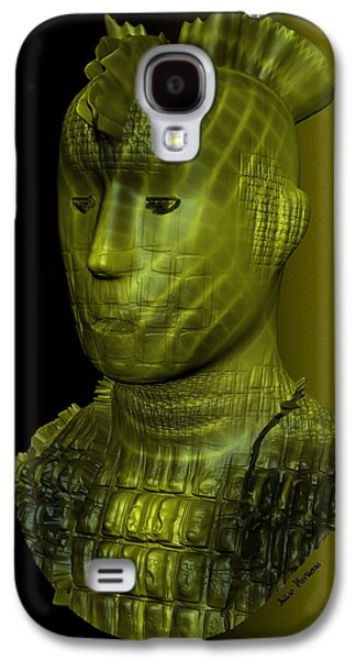 Abstract Landscape Galaxy S4 Cases - Soldier From The Cussex Galaxy 34 E Galaxy S4 Case by Sir Josef Putsche