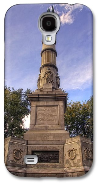Civil War Site Galaxy S4 Cases - Soldiers and Sailors Monument - Boston Galaxy S4 Case by Joann Vitali