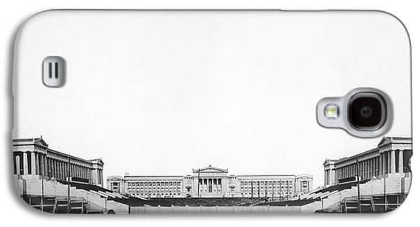 Soldiers' Field And Museum Galaxy S4 Case by Underwood Archives