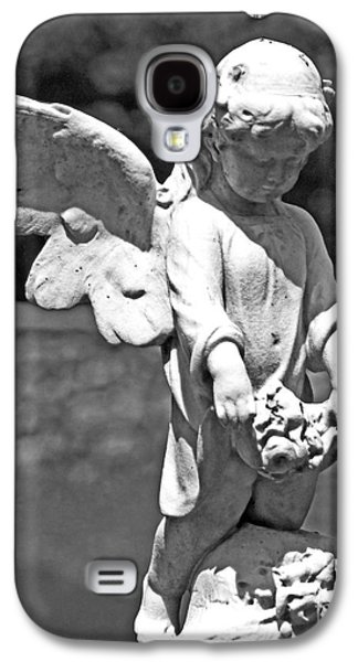 Statue Portrait Galaxy S4 Cases - Solemn Adoration Galaxy S4 Case by Joe Geraci