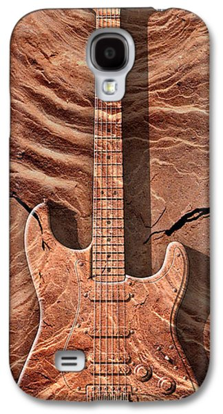 Stone Digital Art Galaxy S4 Cases - Solid As A Rock Panoramic Galaxy S4 Case by Mike McGlothlen