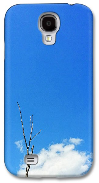Solitude Photographs Galaxy S4 Cases - Solitude - Blue Sky Art By Sharon Cummings Galaxy S4 Case by Sharon Cummings