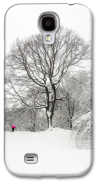 Trees In Snow Galaxy S4 Cases - Solitude Galaxy S4 Case by Nishanth Gopinathan