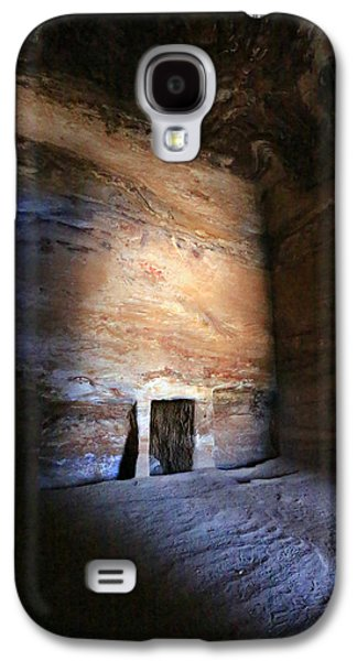 Nabatean Galaxy S4 Cases - Solitude Galaxy S4 Case by Stephen Stookey