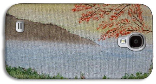 Bob Ross Paintings Galaxy S4 Cases - Some Alone Time Galaxy S4 Case by Sayali Mahajan