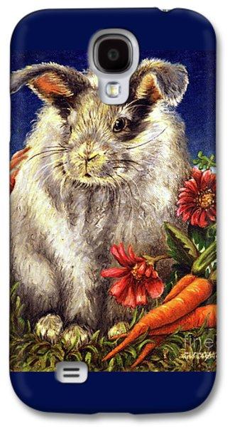 Some Bunny Is A Fuzzy Wuzzy Galaxy S4 Case by Linda Simon