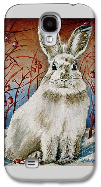 Some Bunny Is Charming Galaxy S4 Case by Linda Simon