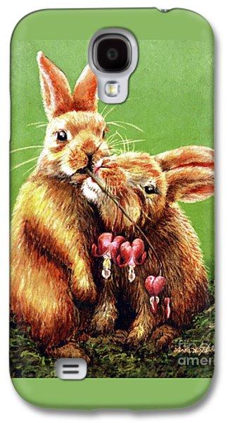 Some Bunny Loves You Galaxy S4 Case by Linda Simon