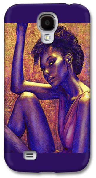 African-american Galaxy S4 Cases - Sometimes I Imagine Galaxy S4 Case by Jane Schnetlage