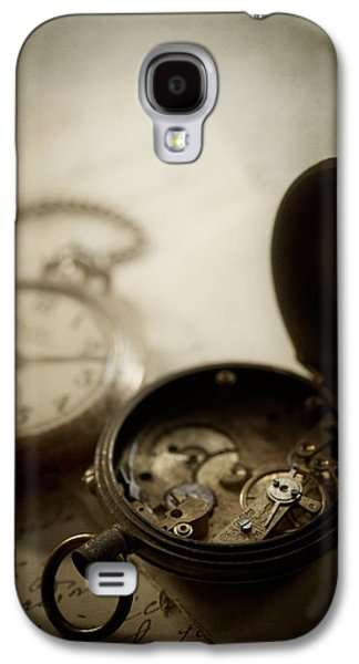 Manuscript Galaxy S4 Cases - Somewhere in Time Galaxy S4 Case by Amy Weiss