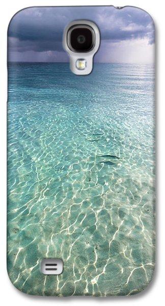 Rainy Day Photographs Galaxy S4 Cases - Somewhere is Rainy. Maldives Galaxy S4 Case by Jenny Rainbow