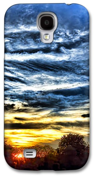 Sun Galaxy S4 Cases - Somewhere on Earth Galaxy S4 Case by Olivier Le Queinec