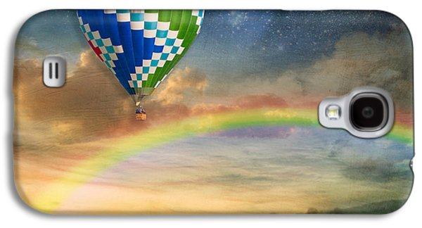 Helium Galaxy S4 Cases - Somewhere Over the Rainbow Galaxy S4 Case by Juli Scalzi