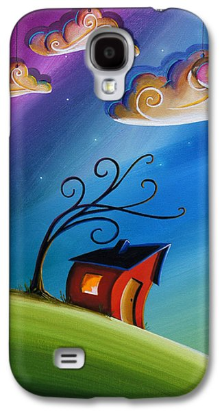 Dreamscape Galaxy S4 Cases - Song At Sunset Galaxy S4 Case by Cindy Thornton