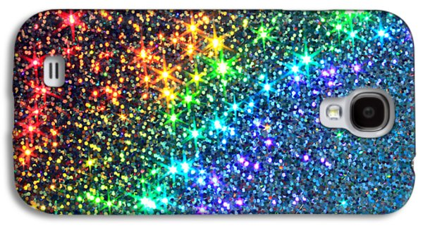 Abstract Digital Photographs Galaxy S4 Cases - Song of the Stars Galaxy S4 Case by Dazzle Zazz