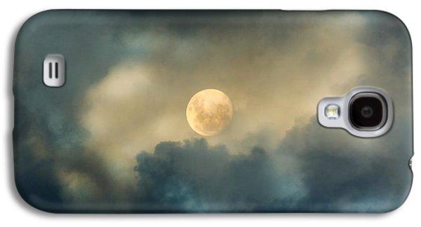 Luna Galaxy S4 Cases - Song To The Moon Galaxy S4 Case by Georgiana Romanovna