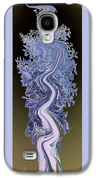 Abstract Nature Galaxy S4 Cases - Song - Yucca Flower Galaxy S4 Case by Ben and Raisa Gertsberg