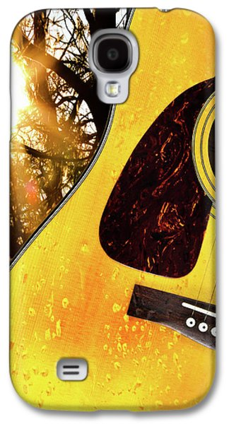 Man Cave Photographs Galaxy S4 Cases - Songs From The Wood Galaxy S4 Case by Bob Orsillo