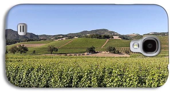 Sonoma County Vineyards. Galaxy S4 Cases - Sonoma County Vineyards Galaxy S4 Case by Carol M Highsmith