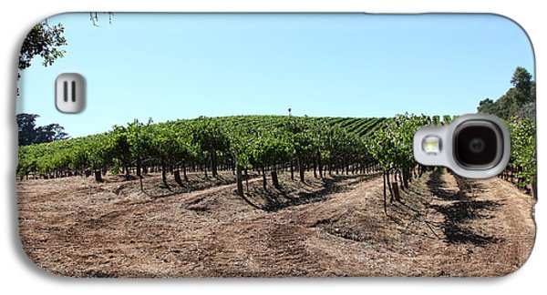 Pastoral Vineyards Galaxy S4 Cases - Sonoma Vineyards In The Sonoma California Wine Country 5D24597 Galaxy S4 Case by Wingsdomain Art and Photography