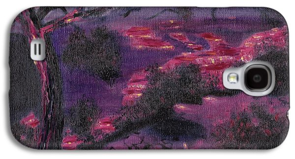 Sonora Paintings Galaxy S4 Cases - Sonora Desert Galaxy S4 Case by Suzanne  Marie Leclair