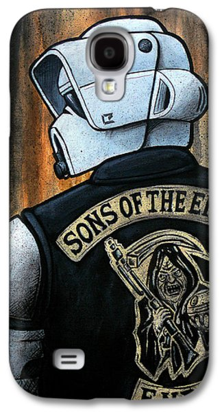 Science Fiction Paintings Galaxy S4 Cases - Sons of the Empire Galaxy S4 Case by Marlon Huynh