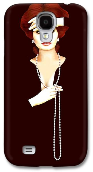 Prostitutes Paintings Galaxy S4 Cases - Sophia Loren 1 Galaxy S4 Case by Jann Paxton