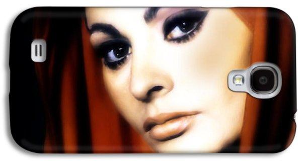 Sophia Loren Galaxy S4 Case by Georgiana Romanovna