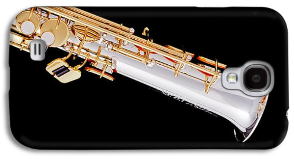 Soprano Saxophone Bell Photograph In Color 3343.02 Galaxy S4 Case by M K  Miller