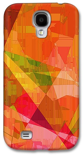 Sorbet Galaxy S4 Cases - Sorbet Galaxy S4 Case by Wendy J St Christopher