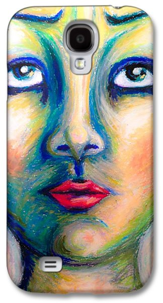 Torn Pastels Galaxy S4 Cases - Sorrow Galaxy S4 Case by India Samara