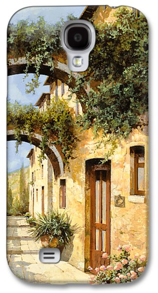 Green Galaxy S4 Cases - Sotto Gli Archi Galaxy S4 Case by Guido Borelli