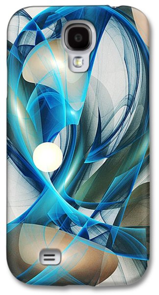 Head Galaxy S4 Cases - Soul Blueprint Galaxy S4 Case by Anastasiya Malakhova