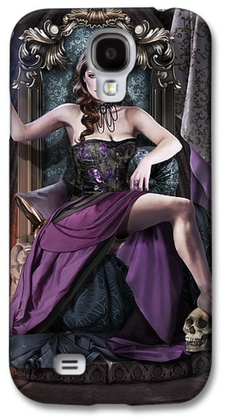 Souls Galaxy S4 Cases - Soul Collector Galaxy S4 Case by Drazenka Kimpel