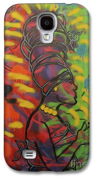 Jay Z Paintings Galaxy S4 Cases - Soul-itude Princess Galaxy S4 Case by Chris Carter