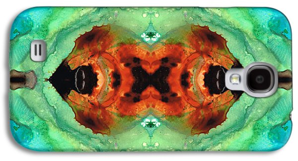Soul Symphony - Abstract Art By Sharon Cummings Galaxy S4 Case by Sharon Cummings