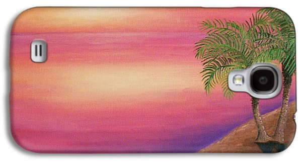 Recently Sold -  - Sunset Abstract Galaxy S4 Cases - Soulmates Galaxy S4 Case by Rivkah Singh