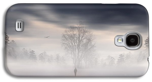 Spirituality Galaxy S4 Cases - Souls Journey Galaxy S4 Case by Lourry Legarde