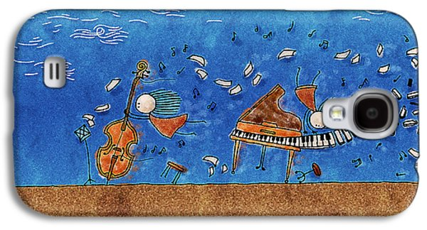 Animation Photographs Galaxy S4 Cases - Sounds Blown in the Wind Galaxy S4 Case by Gianfranco Weiss