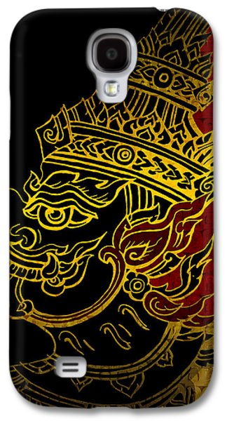 Corporate Task Art Force Galaxy S4 Cases - South Asian Art Motives Galaxy S4 Case by Corporate Art Task Force
