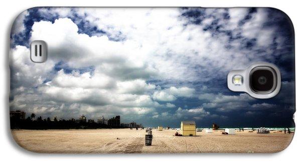 Dreamscape Galaxy S4 Cases - South Beach Sky Galaxy S4 Case by John Rizzuto