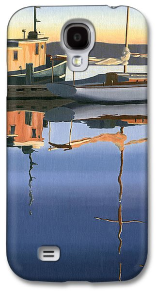 South Harbour Reflections Galaxy S4 Case by Gary Giacomelli