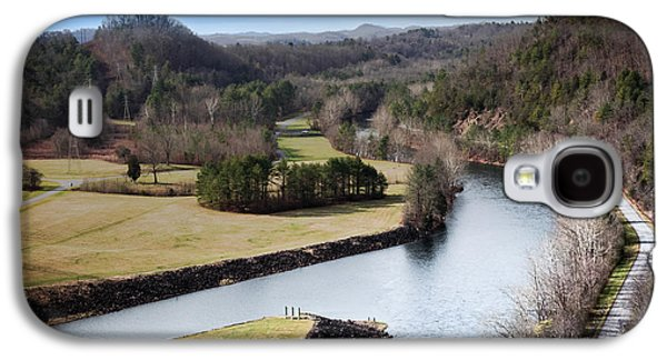 Tennessee Landmark Galaxy S4 Cases - South Holston Dam View Galaxy S4 Case by Karen Wiles